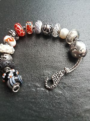 authentic original trollbeads bracelet