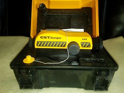 """Cts Berger Laser AutomaticLevel Pal/sal """"n"""" Series."""