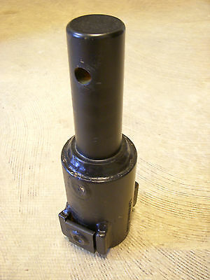 """Lowe Auger Bit Post Hole Digger Adapter - 2-9/16"""" Round to 2"""" Round - FREE SHIP"""