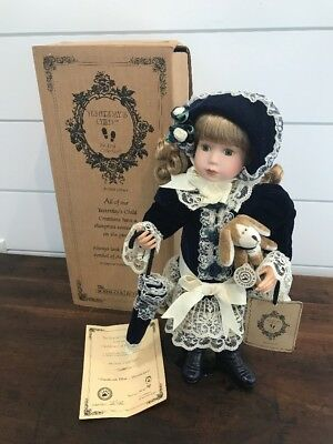 """2000 Boyd's Yesterday's Child """"Priscilla"""" Limited Edition Porcelain Doll #2765"""