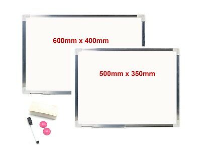 Aluminium Magnetic Whiteboard Dry Wipe Notice Board For Classroom Office Home