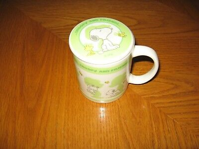 Peanuts Snoopy & Friends with the Peanuts Gang Ceramic Coffee Cup With Lid