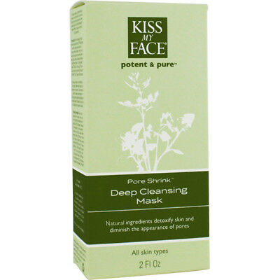 Pore Shrink Deep Cleansing Mask, Kiss My Face, 2 oz