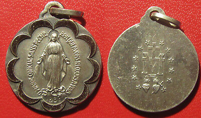 Medaille medal religieuse ancienne  médaille miraculeuse vierge marie