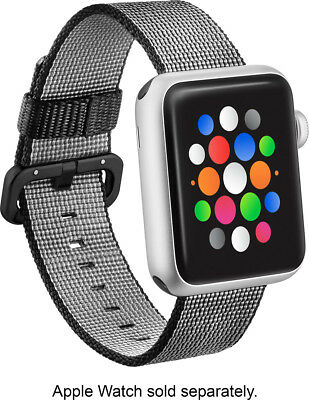 Open-Box Excellent: Modal - Woven Nylon Band Watch Strap for Apple Watch 42mm...