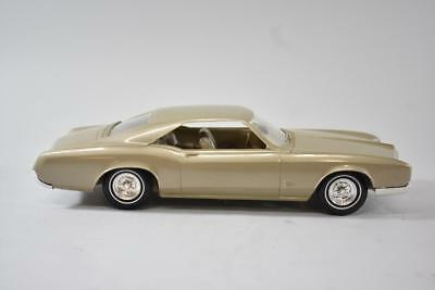 1965 Buick Riviera Dealer Promo Car With Box Champagne Gold Mint Condition