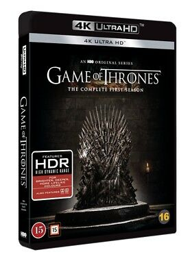 Game of Thrones The Complete First Season 4K UHD 4-Disc