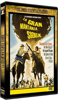 The Great Sioux Massacre NEW PAL Classic DVD Sidney Salkow J. Cotton D. McGavin