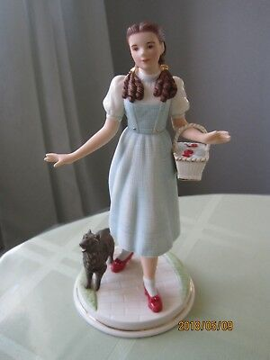 Lenox The Wizard of Oz Dorothy and Toto Figurine Mint