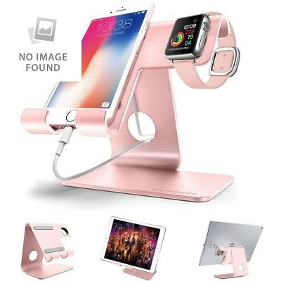 ZVEproof 2 in 1 Universal Cell Phone Stand AND apple iwatch charging stands dock