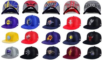 f8ec9b887cc New Era NBA On Court Collection Draft 2017-18 9FIFTY Mens Snapback Cap Hat