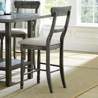Progressive Muses 25 Counter Stool In Dove Gray Set Of 2