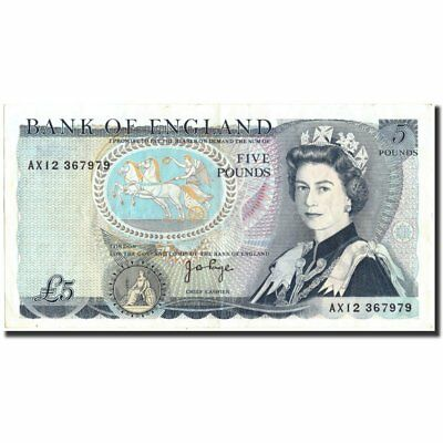[#213744] Banknote, Great Britain, 5 Pounds, KM:378b, EF(40-45)