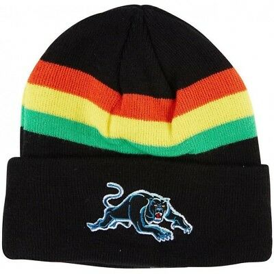 Penrith Panthers NRL 2018 Embroidered Team Logo Beanie!