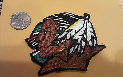 "Und University of North Dakota Fighting Sioux embroidered iron on Patch 3"" x 3"""