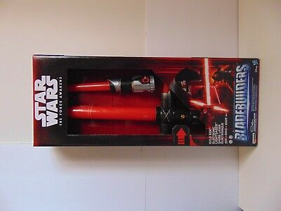 !New! Star Wars The Force Awakens Bladebuilders Kylo Ren Electronic Lightsaber!