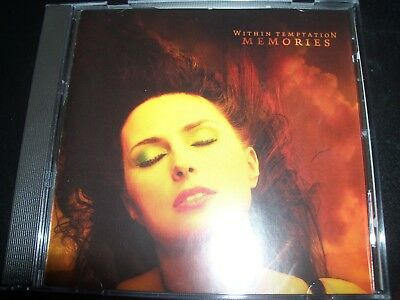 Within Temptation ‎– Memories EU CD Single – Like New