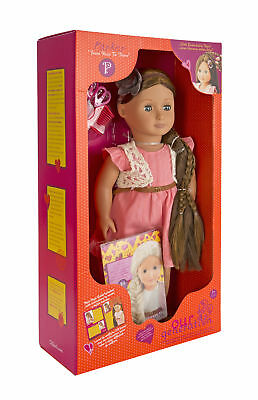 Our Generation From Hair to There 18-Inch Parker Doll with Extendable Hair and S