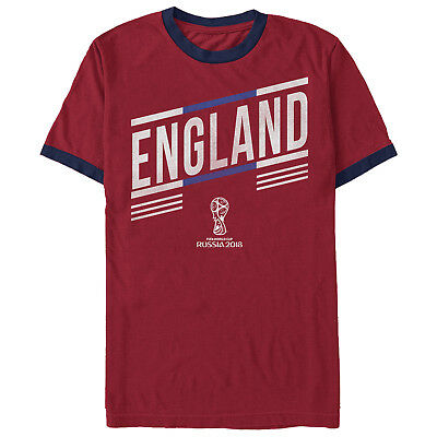 FIFA World Cup Russia 2018™ England Stripes Mens Graphic Ringer T Shirt 3c803abcf