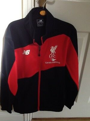Mens New Balance Liverpool Football Club Zip Up Top size Small