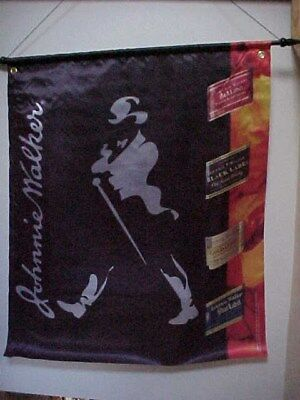 Johnnie Walker Black Label Scotch 30x33 Flag banner