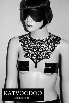 collier Latex fetish necklace 100% rubber fetish club sm
