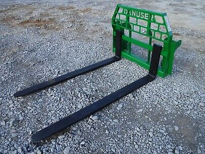 """John Deere Tractor Attachment - 72"""" Pallet Forks 600 700 Series - Ship $199"""