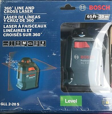 Bosch 360 Line And Cross Laser GLL 2-20 S