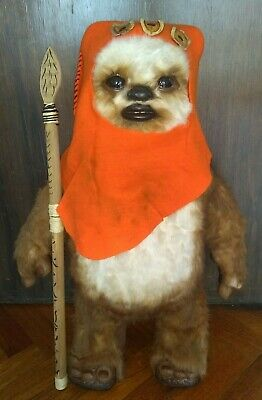 Star Wars WICKET EWOK Lifesize Prop -- LIFE SIZE 1:1 Replica !!!!