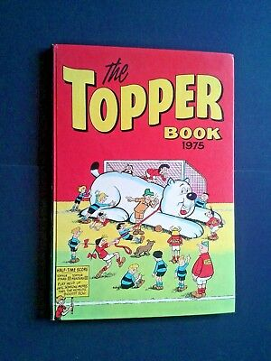 The Topper Book 1975 Annual - Hardback Book