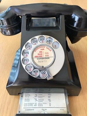 Bakerlight series 300 vintage telephone with rare type 184C handset