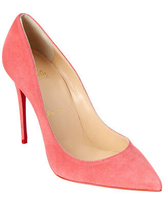 buy online d9ea4 4b631 Christian Louboutin Pigalle Follies 100 Suede Pump Guaranteed 100% Authentic
