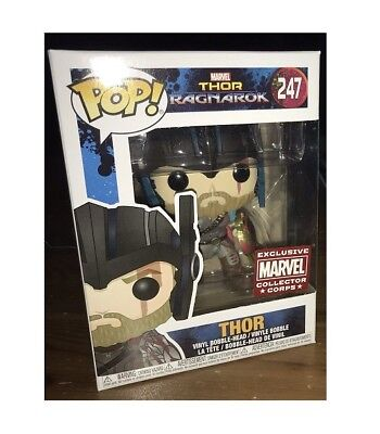 Thor Ragnarok Marvel Collector Corps Exclusive Pop Vinyl Figure Funko #247