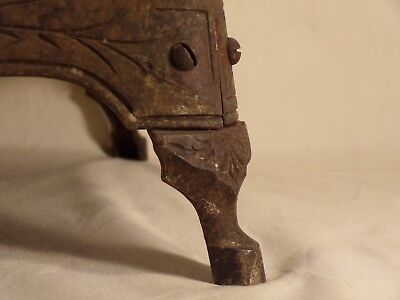 1900 Detroit Stove Works Cast Iron Jewel Jr Range Salesman Sample Base Leg Part