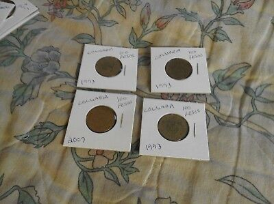 Columbia 4 Coins 93-07