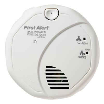 Battery Operated Dual-Sensor Alarm with Voice Alert