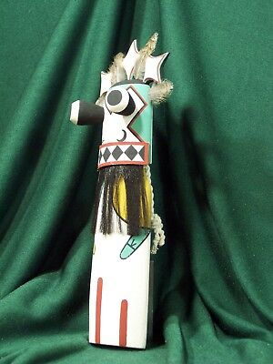 Hopi Kachina Doll - The Blue Star Uncle - Very Mysterious!