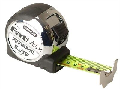 Stanley 5-33-886 5M/16Ft Fatmax Xtreme Metric/Imperial Tape Measure