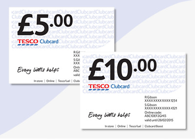 Tesco Clubcard vouchers £32.50 worth up to £130 in deals