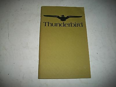Nos 1974  Ford Thunderbird Owners Manual New-Never Used Cmystore4More
