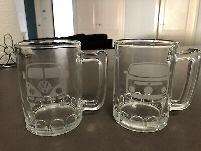 Collectable volkswagen glasses