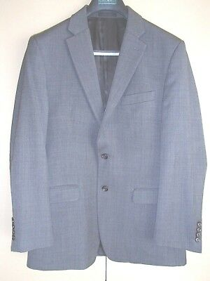 Lauren Ralph Lauren Men's Suit 100% Pure Wool Grey (33/34 pants) 40R jacket)