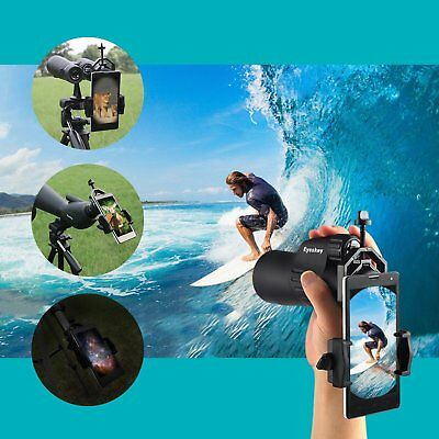 Eyeskey Universal Phone Spotting Scope Adapter Mount Compatible with Telescope,