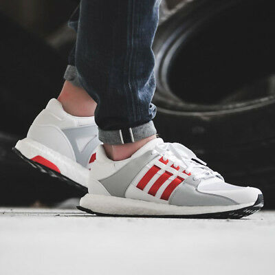 new styles 6215d 75668 NEW ADIDAS ORIGINALS EQT SUPPORT ULTRA BOOST MENS SHOES BY9532 White Bold  Orange