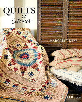 Steppdecke Muster Buch ~ Quilts from the Kolonien von quiltmania