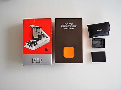 Hama 3751 Cinepress Automat Filmklebepresse Super 8 Schmalfilm ***TOP***