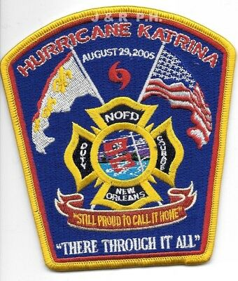 """New Orleans  Hurricane Katrina (4.5"""" x 5"""" size) fire patch"""