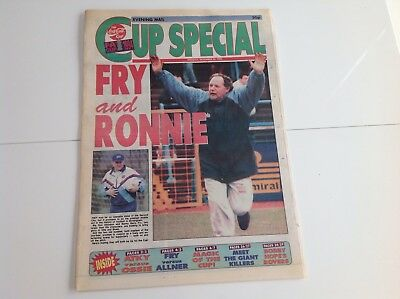 1993/94 - Evening Mail FA Cup 3rd Round Preview - ASTON VILLA BIRMINGHAM CITY