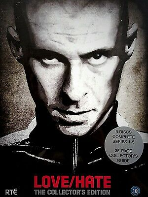 Love/hate: Complete Series/ Seasons 1 - 5   New Collector's Edition Dvd Box Set