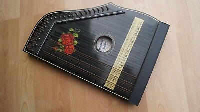 """Zither alt Modell """"Musikus- Studio"""" Made in Germany"""